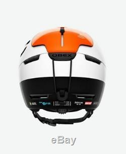 POC Obex BC SPIN Farbe white / Orange AVIP Größe M L (55 58 cm)