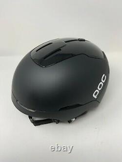 POC Obex Spin Communication Uranium Black Size M-L 55-58 Ski Snowboard Helmet Ne