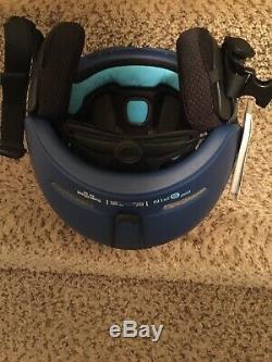 POC Obex Spin Ski Snow Helmet Hydrogen Lead Blue XL-XXL 59-62
