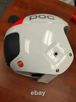 POC Orbic Skull Comp Hydrogen White M/L(55/56-57/58) shortened strap Helmet