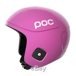 POC Orbic X SPIN FIS Ski Racing Helmet Actinium Pink, Small (53-54cm)