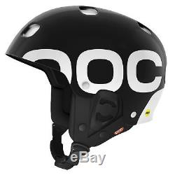 POC Receptor Backcountry MIPS Snow Ski Bike Helmet Uranium Black Small