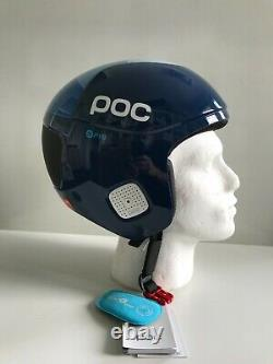 POC Ski/Snowboard Helmet Skull Orbic Comp Colour Lead Blue Size M-L