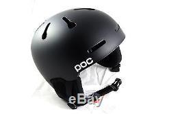 POC Skihelm Auric Cut, Matt Black, Größe XL-XXL 59-62 cm, 10496 NEU
