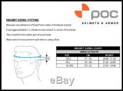 POC Skull Orbic Comp Snow Sports Helmet (Hydrogen White / M/L Size)