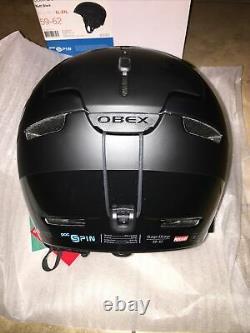 POC Sports Obex BC Spin Helmet Matt Black X-Large/XX-Large