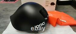 POC Tempor Helmet Uranium Black Size M-L 55-58