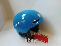 POCito Fornix SPIN Fluorescent Blue Junior Ski Snowboard Helm Gr. M/L