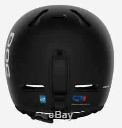 Poc auric cut uranium black ski helmet (M-L / 55-58cm) Brand New, RRP £155.00