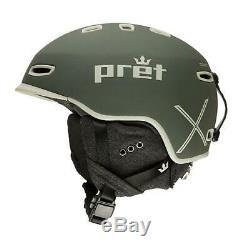 Pret Cynic X Boa Ski Snowboard Mips Helmet Large Duffel Gray New Ships Free USA