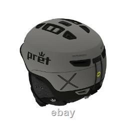Pret Fury X Snow Helmet Men's Medium / Primer Grey