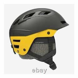 QST Charge Ski Helmet Grey/Lemon Large