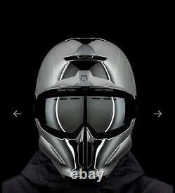 RG1-DX HELMET CHROME 19/20, Size M/L Winter sports helmet NEW RRP £279.99