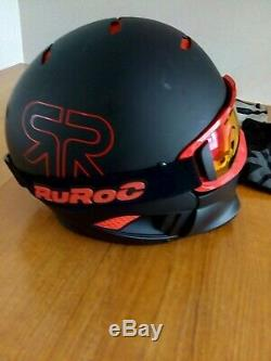 RUROC Inferno RG1 RG1X SKI / SNOWBOARD HELMET & GOGGLES SIZE M/L 57-61 CM