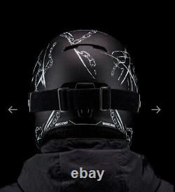RUROC RG1-DX CHAINBREAKER Ski Snowboard Helmet M/L (57-59cm) Black Season 19/20
