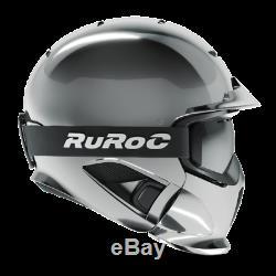 RUROC RG1-DX Farbe Shadow Chrome Größe M/L (57 60 cm)