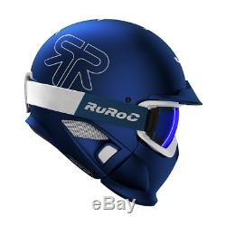 RUROC RG1-DX Farbe metallic blau Größe M/L (57 59 cm) season 19/20