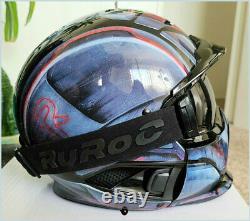 RUROC RG1-DX MACHINE EDITION Snowboard Skate Snow Helmet Face Oakley (LARGE)