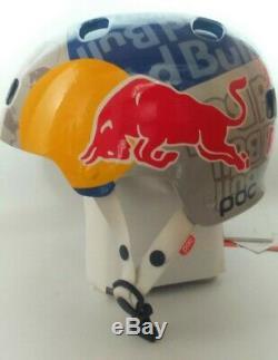 Red Bull Helm POC Skateboard Snowboard Ski BMX Mtb Downhill Helmet Casco S