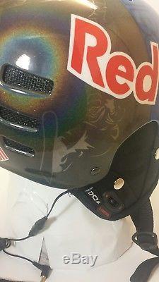 Red Bull Helm Snowboard Ski Skateboard BMX Downhill MTB Helmet Casco Tsg (L- XL)