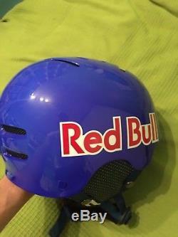 Red bull team ski helmet snowboard skate