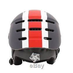 Rossignol Lightweight Men's Outdoor Strato Visor Helmet Black / Red