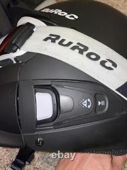 RuRoc RG1-DX Core Ski SnowBoard Helmet & Goggles Size XL/XXL WithShockpods &more