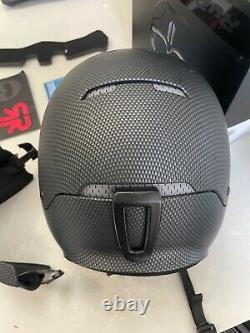 RuRoc RG1-X Carbon ML Snowboard/Alpine Ski Helmet, Wicked cool