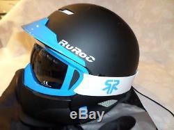 RuRoc RG1-X Snowboard / Ski Helmet with Goggles M / L 57-61cm