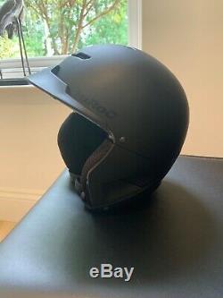Ruroc Black RG1-X Ski/Snowboard Helmet Used Size YL