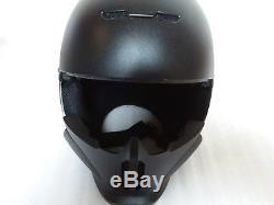 Ruroc Black Ski/Snowboard Helmet & Goggles worn by Martin Bell