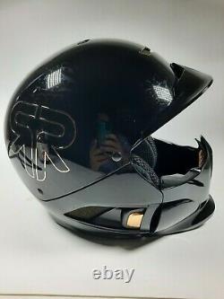 Ruroc Black gold titan RG1-DX M/L Helmet googles original box NWT with Tags