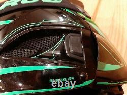 Ruroc Chaos Viper RG1-DX Helmet / Goggles Sz XL Snowboarding Evolution Decal