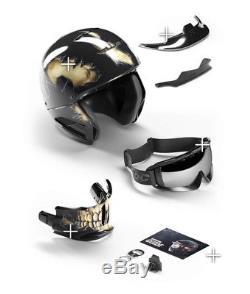 Ruroc Helmet RG1-DX Core 2018 XL/XXL Helmet BNIB With Weather Lens Pack