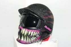 Ruroc Helmet RG1-DX M/L Toxin 2019 RRP £300 Ski Snowboard Goggles