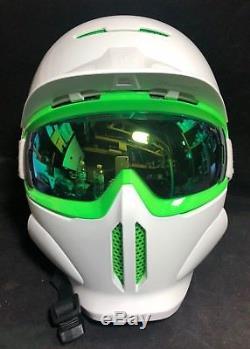 Ruroc RG-1 Green Viper Helmet Size XL (59cm 63cm) Snowboard & Ski helmet