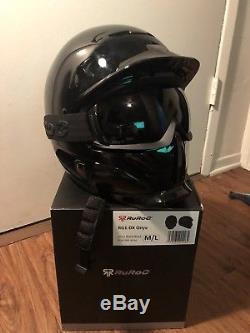Ruroc RG1-DX BLACK ONYX Helmet M/L 2018 NEW