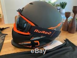 Ruroc RG1-DX CHAOS NOVA Snow Helmet XL NEW Never used