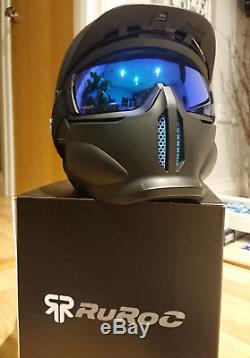 Ruroc RG1-DX CORE Ski/Snowboard Helmet XL (61cm-64cm) BOXED Great condition