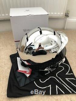 Ruroc RG1-DX Chrome M/L Ski/Snowboard Helmet. Brand New With Tags. RRP £295