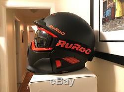 Ruroc RG1-DX Color Black Nova Size M/L (57cm 59cm)