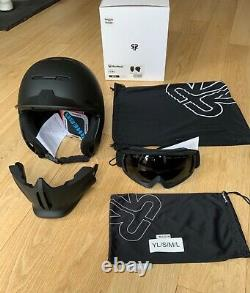 Ruroc RG1-DX Core (Black) 2020/21 Skiing / Snowboarding Helmet Size M/L 57-59 cm