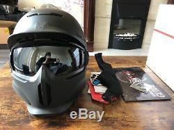 Ruroc RG1-DX Core Matt Black Brand New Ski/Snowboard Helmet