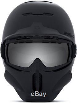 Ruroc RG1-DX Full Face Snowboard/Ski Helmet, M/L, Core