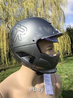 Ruroc RG1 DX Magnum ML Black Snowboarding / Skiing Helmet