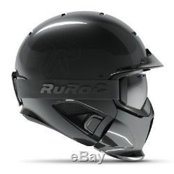 Ruroc RG1-DX Onyx Ski/ Snowboard XL BLACK BRAND NEW! Plus goggles
