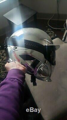 Ruroc RG1-DX Shadow Chrome Helmet M/L skiing / snowboarding