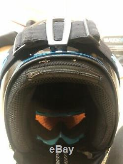 Ruroc RG1-DX Ski/Snowboard ESK8 Helmet Chaos Ice M/L With Shockwave Sound System