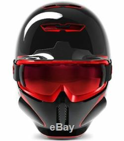 Ruroc RG1-DX Ski / Snowboard Helm Chaos Inferno M/L (57-60cm)