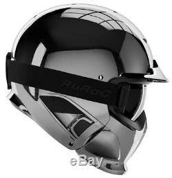 Ruroc RG1-DX Ski / Snowboard Helm Chrome M/L (57-59cm)